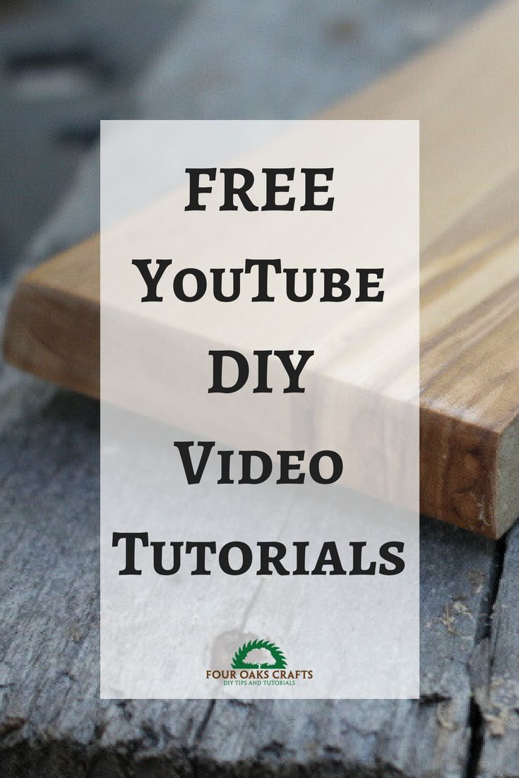 Get lots of FREE YouTube videos on various woodworking projects and crafts. Most...