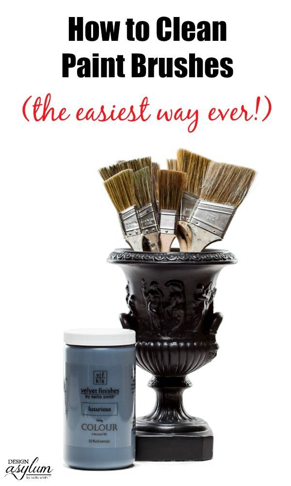 How to Clean Paint Brushes - the easiest way ever! Introducing the Reviver paint...