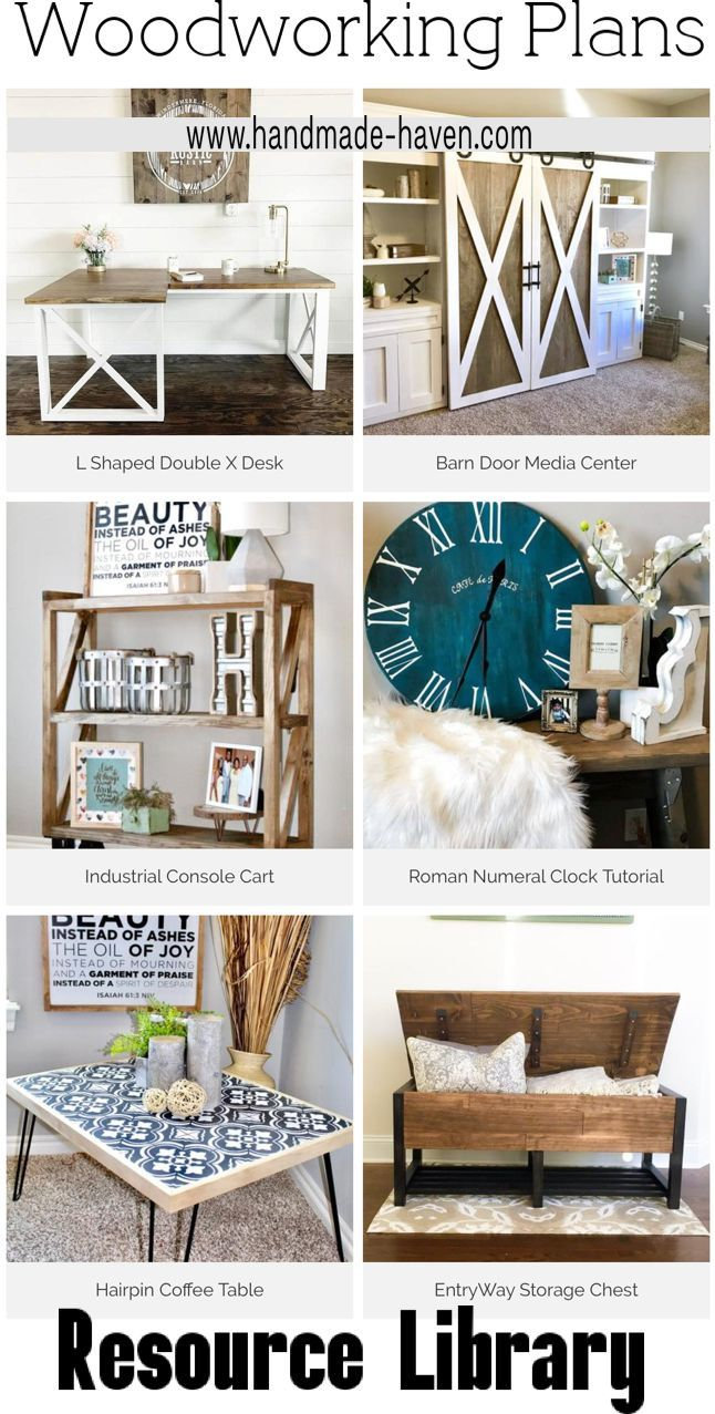 Looking for the perfect DIY woodworking project?! Check out this free Woodworkin...