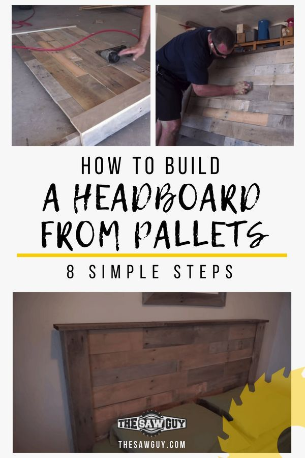 Looking to make your own headboard?  See our tutorial on how to build a headboar...