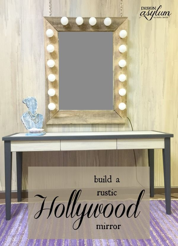 Making your own Hollywood mirror is pretty easy and inexpensive. Follow this sim...