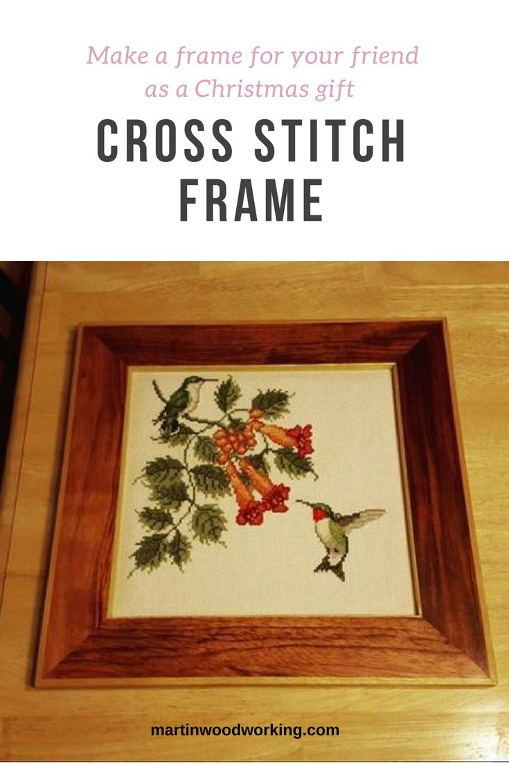 My aunt was given this cross stitch as a gift from a late friend of hers. She as...