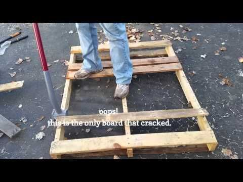 Pallet projects to inspire, plus tips on how to easily dismantle pallets from ex...