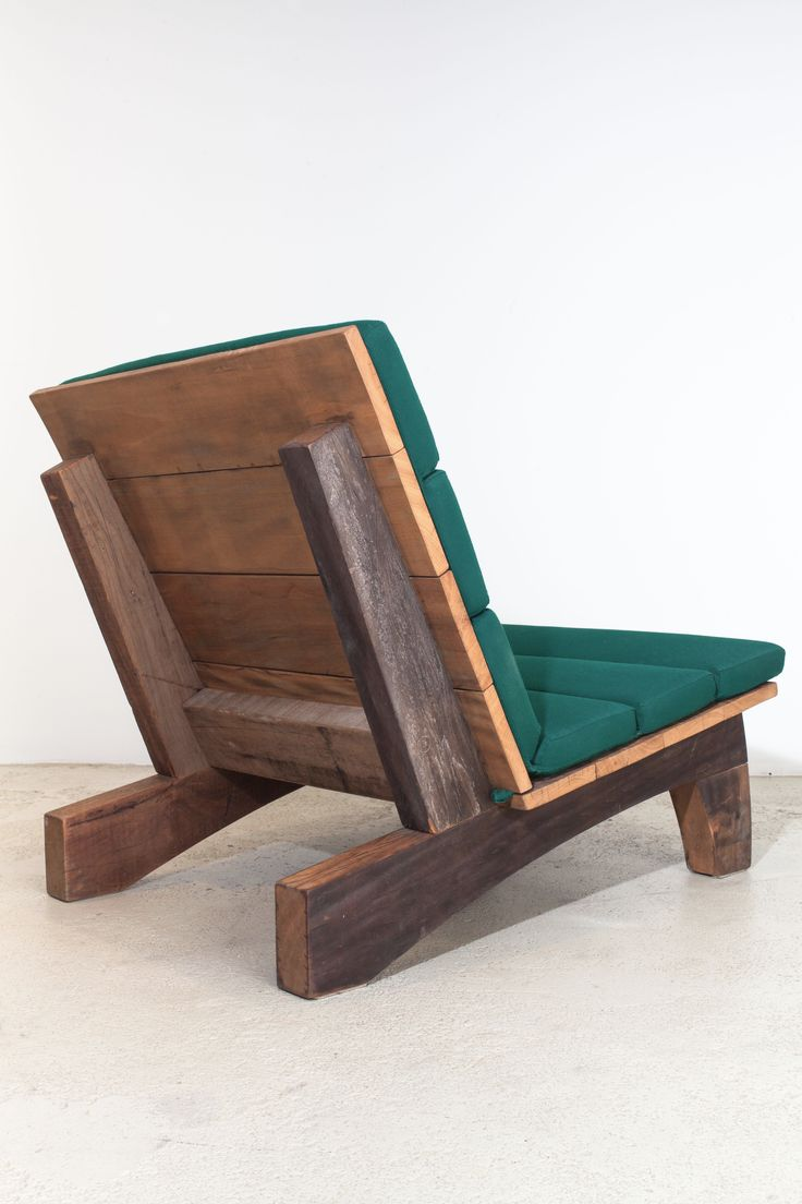 Rio Manso chair by Carlos Motta available at ESPASSO. Suited for both indoor and...