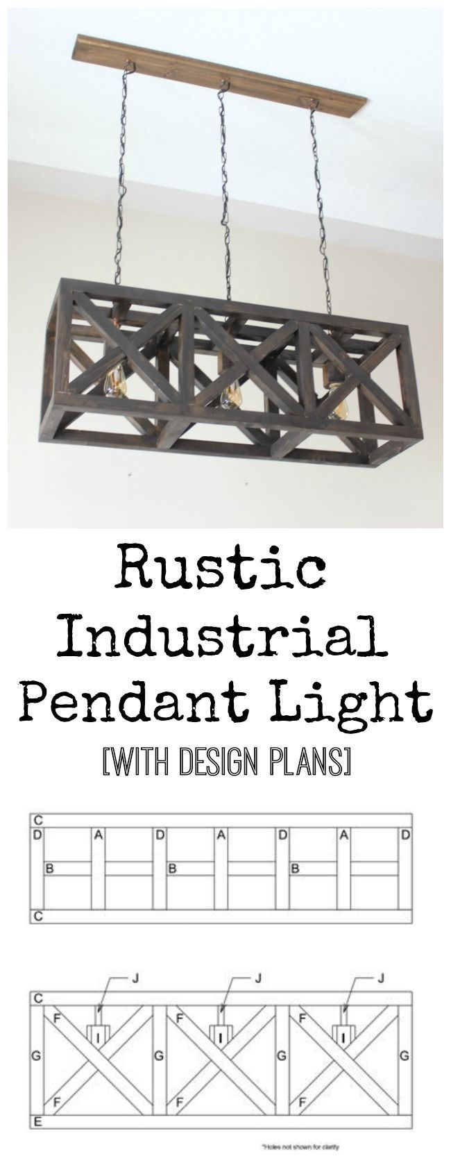 Diy Furniture Rustic Industrial Pendant Light Free Design Plans For This Beautiful Diy Light Diyall Net Home Of Diy Craft Ideas Inspiration Diy Projects Craft Ideas
