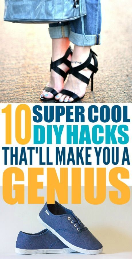These DIY hacks are really easy! I'm glad I found these ways to make life easier...