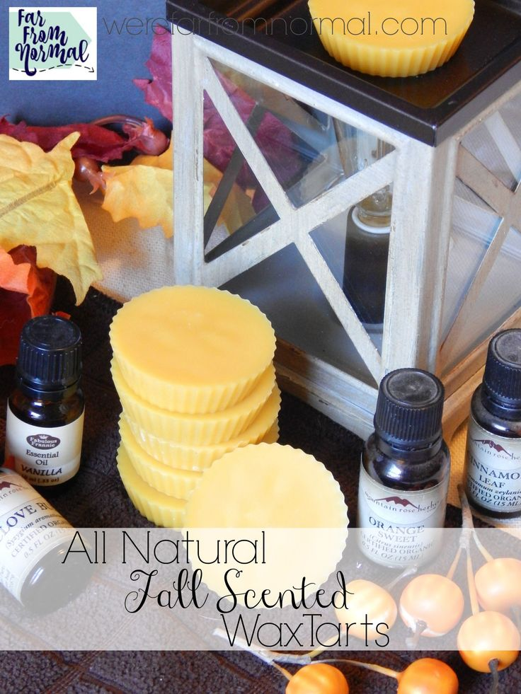 These all natural tarts are full of amazing fall fragrance to fill your home! Ea...