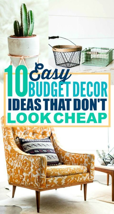 These are such good budget decorating ideas! I'm so glad I found these amazing d...