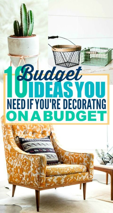 These are such good budget decorating ideas! I'm so glad I found these awesome d...