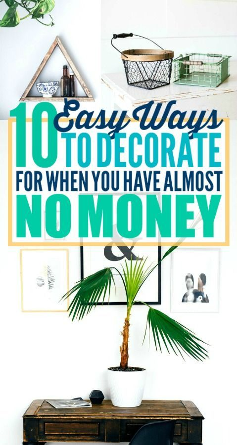 These are such good budget decorating ideas! I'm so happy I found these great de...