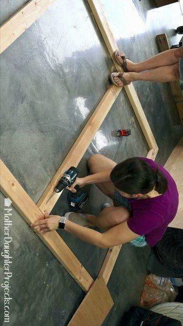 This is SO cool! #DIY #headboard #idea #homedecor #diyhomedecor #homedecorideas ...