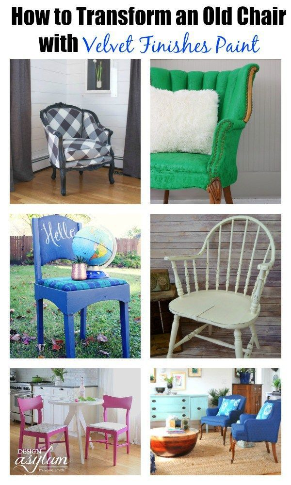 Have a chair that could use a new coat of paint? Take a look at these DIY Chair ...