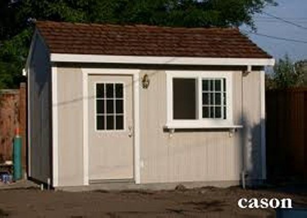 Diy 8 X 10 Outdoor Shed Building Building Drafts 4 Steps For