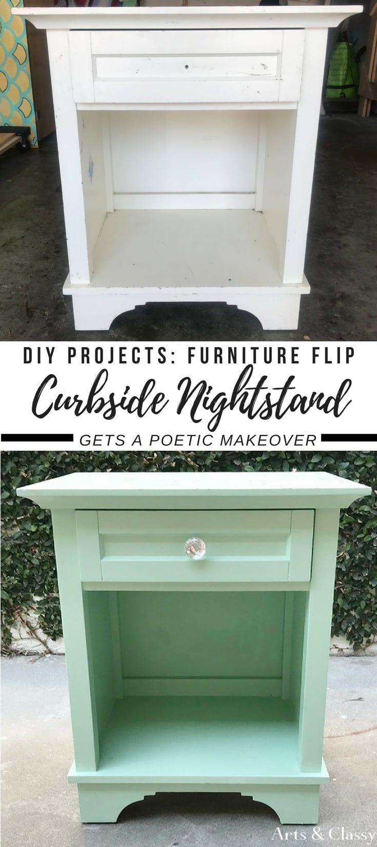 Diy Furniture Curbside Nightstand Diy Furniture Makeover