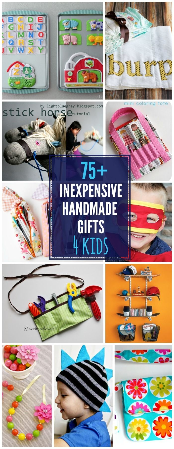 50+ Inexpensive DIY Gift Ideas