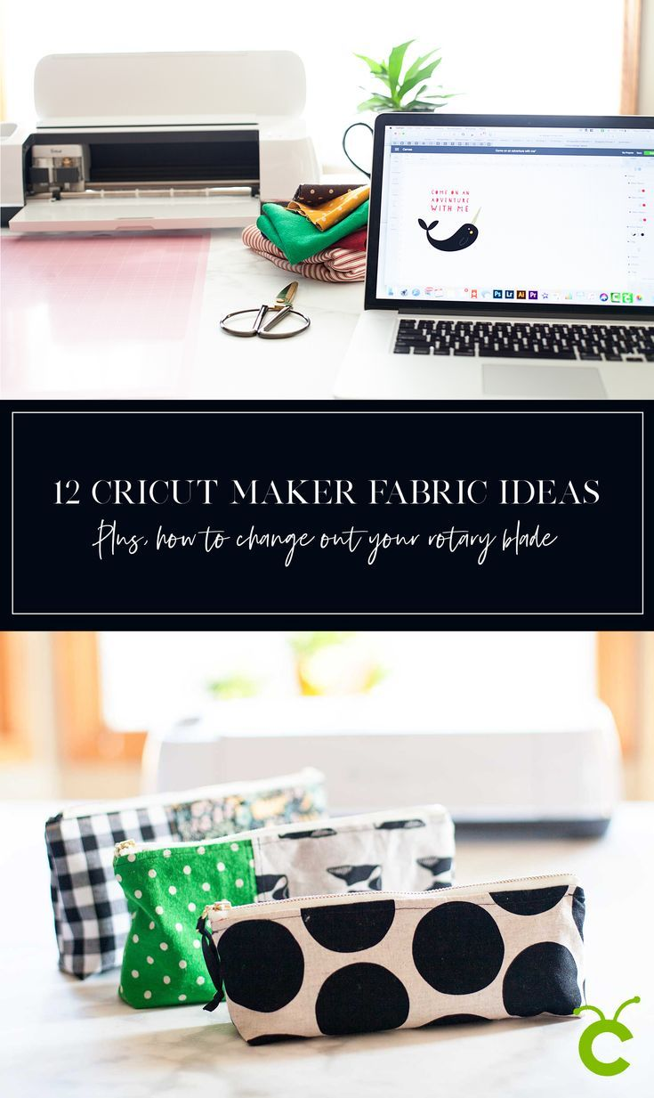 12 Cricut Maker Fabric Projects PLUS + Forevery Cricut Maker user, there comes...