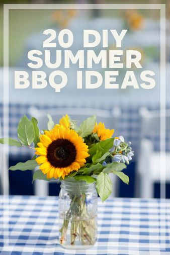 20 #DIY summer #BBQ ideas  -  christianpf.com/...