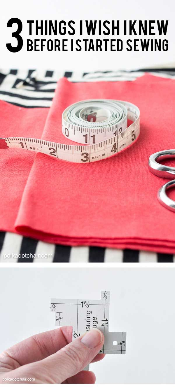 3 Things I wish I knew before I started Sewing #beginnersewing #sewingtips #lear...