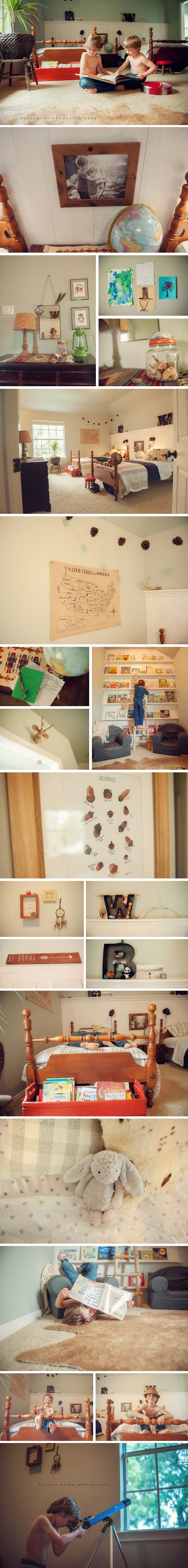 Boys Room Makeover. This adventure themed bedroom would be so fun to create for ...