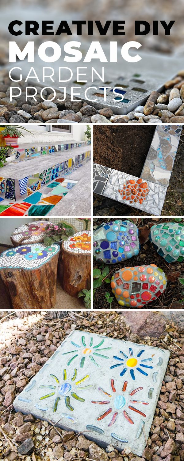 Diy Crafts Creative Diy Mosaic Garden Projects Check This Post