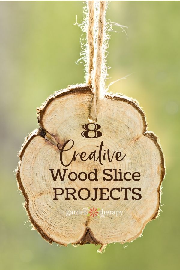 Creative Wood Slice Projects. there are so many uses for these rustic yet beauti...
