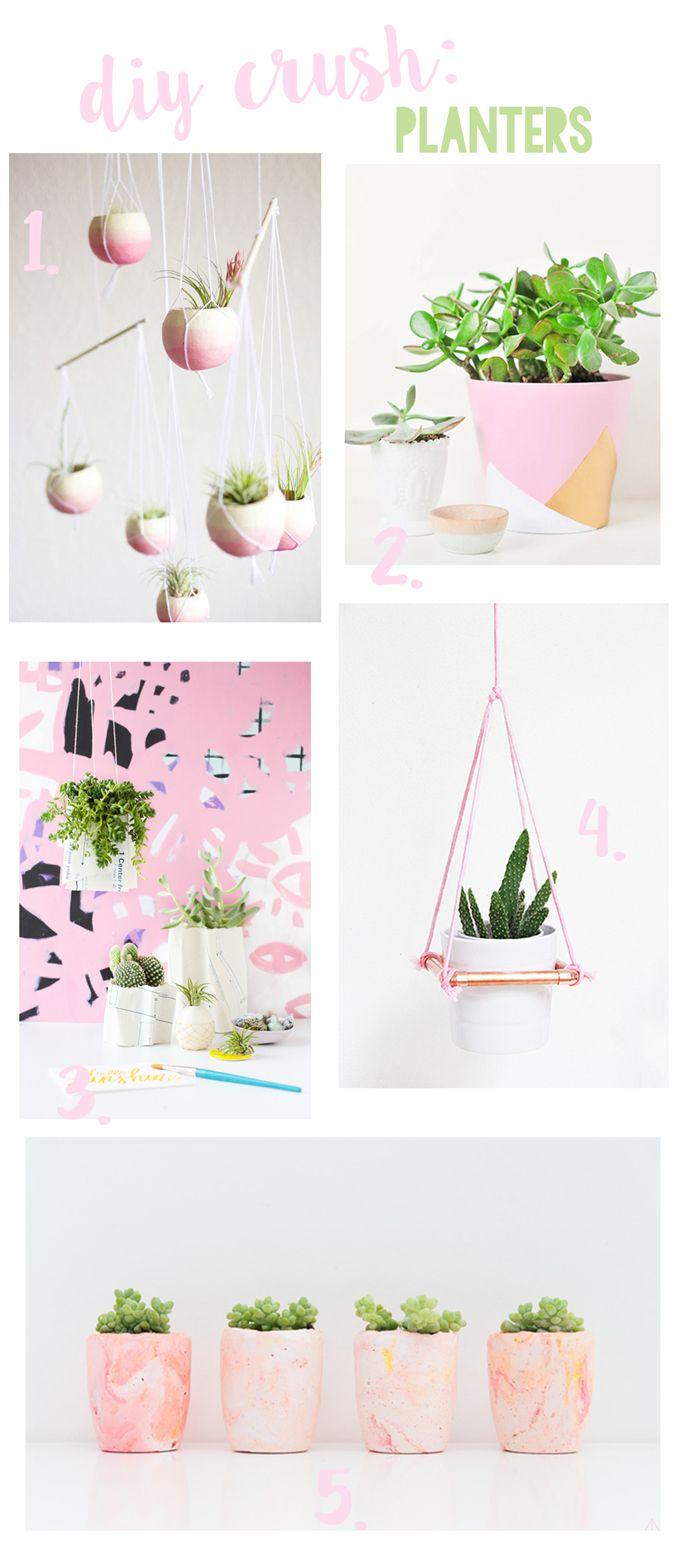 DIY Crush: Planters