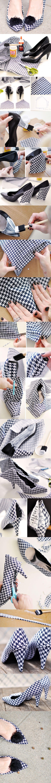 DIY: Designer Shoes Project