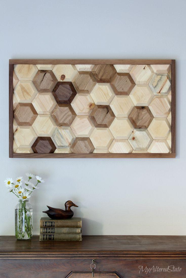 Diy Crafts Diy Geometric Wood Wall Art Diyall Net Home Of Diy
