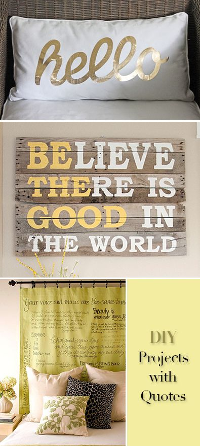 Diy Crafts Diy Projects With Quotes Tutorials And Ideas For