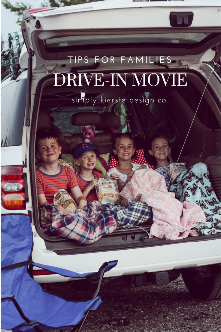Drive-in Movie Tips for Families #summerfun #summerideas #familyfun #summerideas...