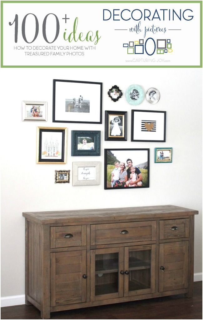 Family Photo Gallery Wall. How to design a gallery wall. Decorating with family ...