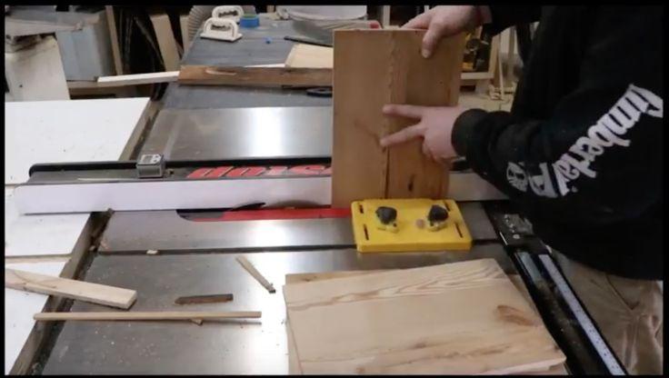 HOW TO MAKE A RECLAIMED WOOD BUFFET - JohnMalecki.com
