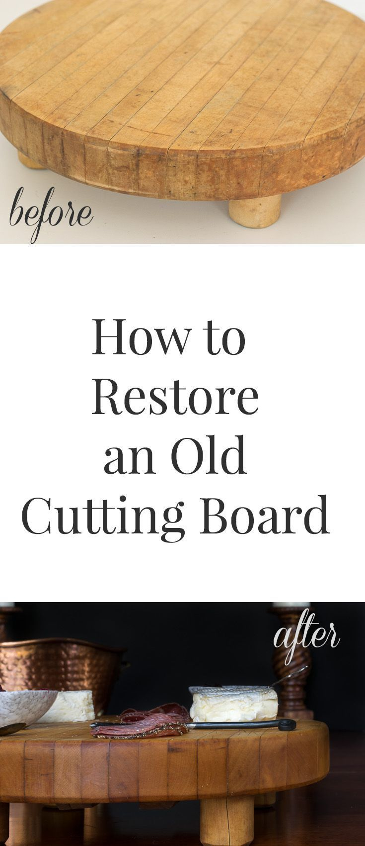 I am always looking for cutting boards in thrift stores, so it's important t...