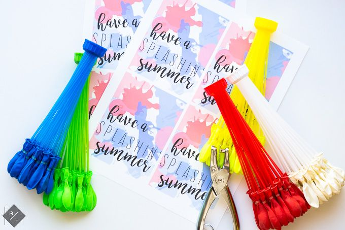 If you're looking for a cute and FUN summer themed gift to give, then this F...