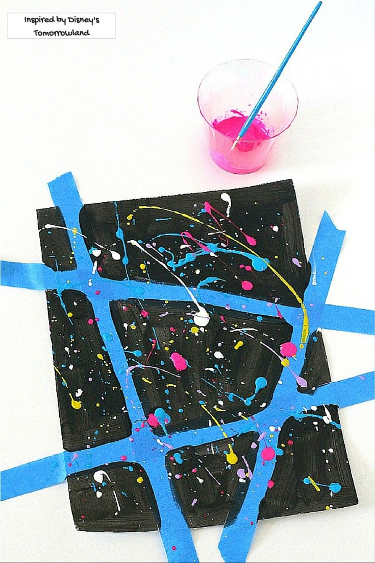 Inspire creative confidence in kids with this splatter art activity.