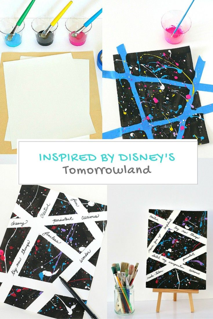Not only will kids LOVE creating with this splatter paint technique, but they'...