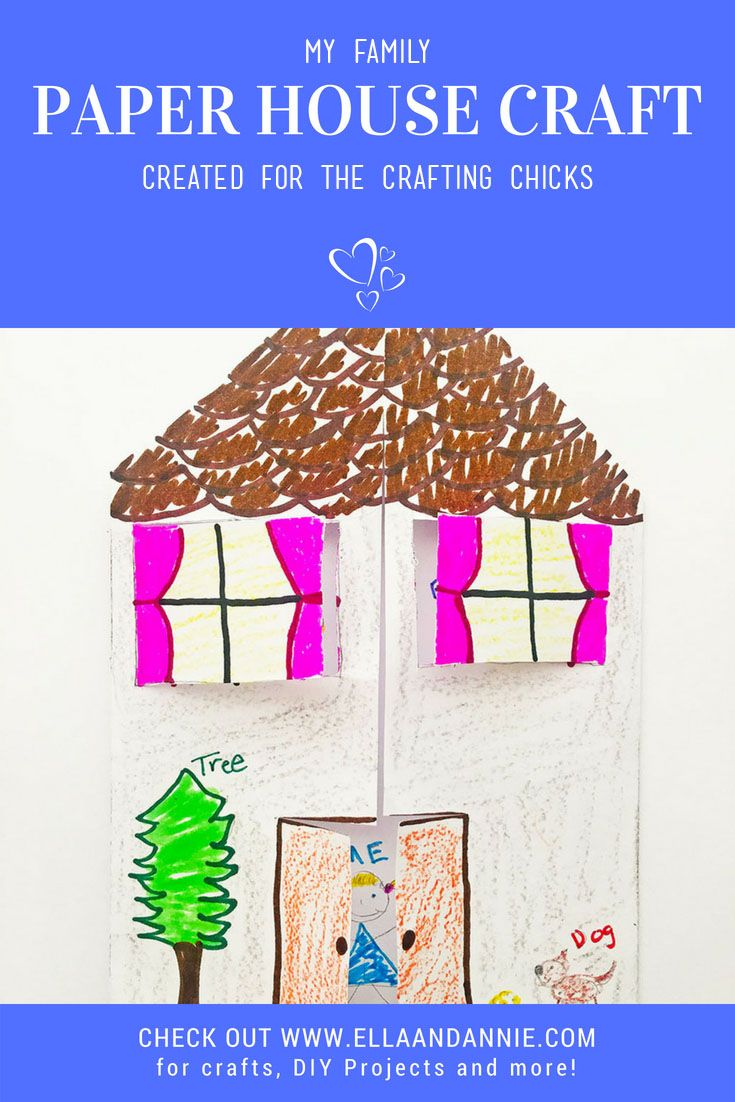 Diy Crafts Paper House Craft Kids Will Love Learning About Their
