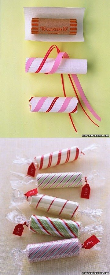 Roll of Coins Stocking Stuffer   31 Cheap And Easy Last-Minute DIY Gifts They&#3...