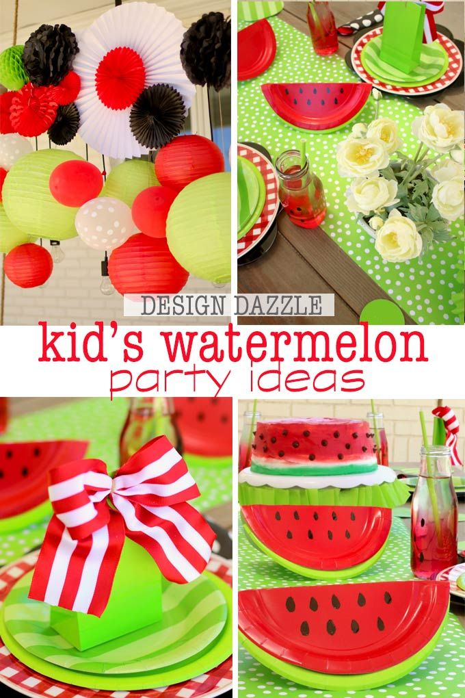 Diy Crafts Sharing How To Do An Easy And Fun Summer Watermelon