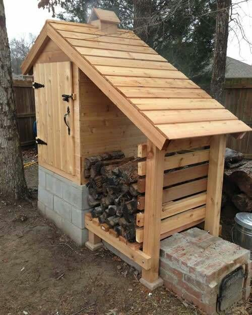 Smokehouse for smoking meats