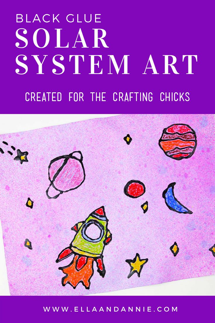Diy Crafts Solar System Art Kids Will Love Creating This