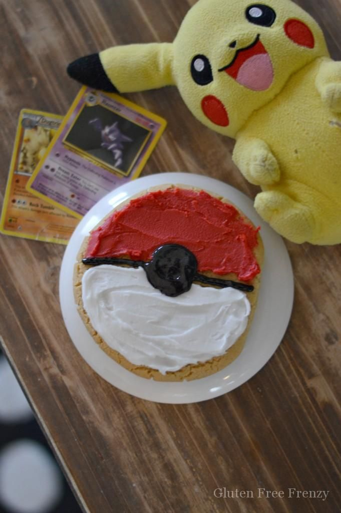 These Pokemon cookies are perfect for holding your own Pokemon summer camp