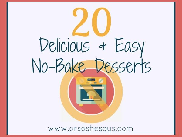 Today Mariah has some awesome no-bake desserts that will not only keep your hous...