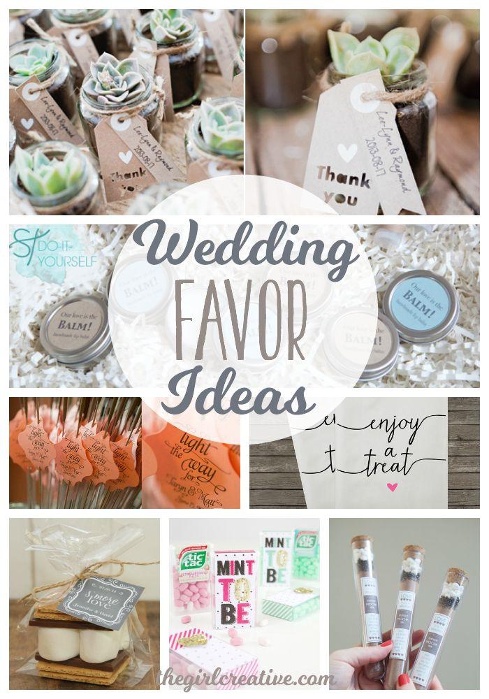 Diy Crafts Wedding Favor Ideas For A Diy Wedding Or A Wedding On A