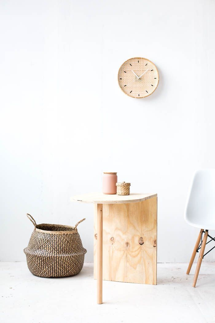 DIY Wooden Side Table tutorial