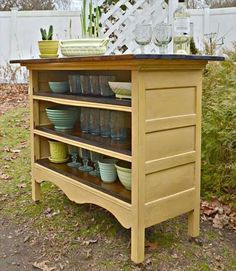 Diy Furniture Dresser Repurposed As A Kitchen Island Love The Color Combo Diyall Net Home Of Diy Craft Ideas Inspiration Diy Projects Craft Ideas How To S For