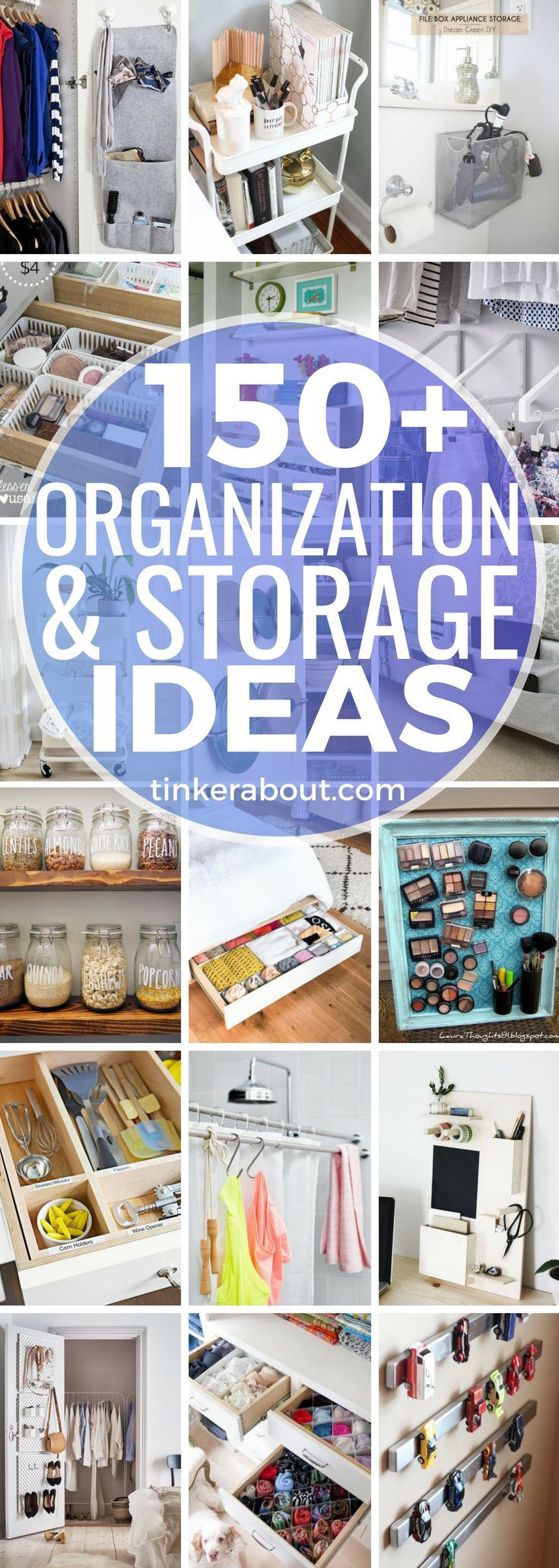 Looking for easy ways to organize your home by yourself? This post is the right ...