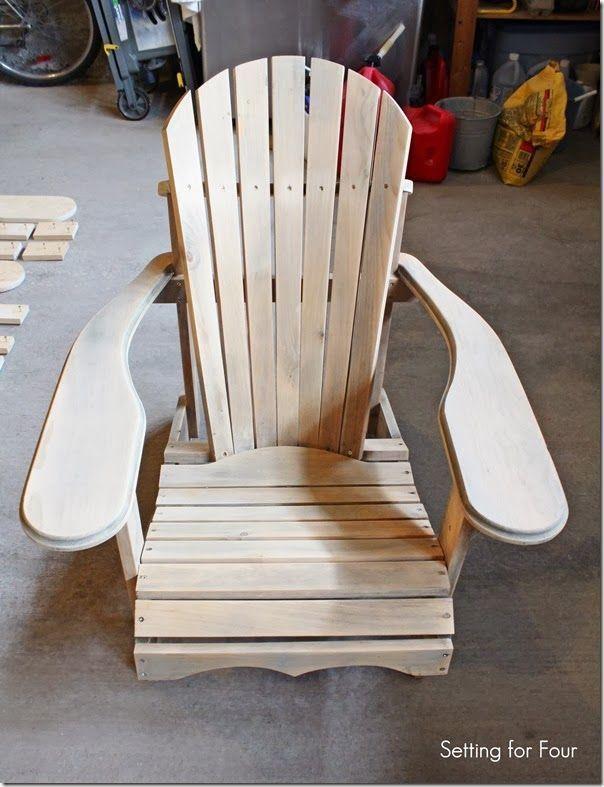 Make this comfy DIY Wood Adirondack Chair in one weekend! Step by step tutorial,...