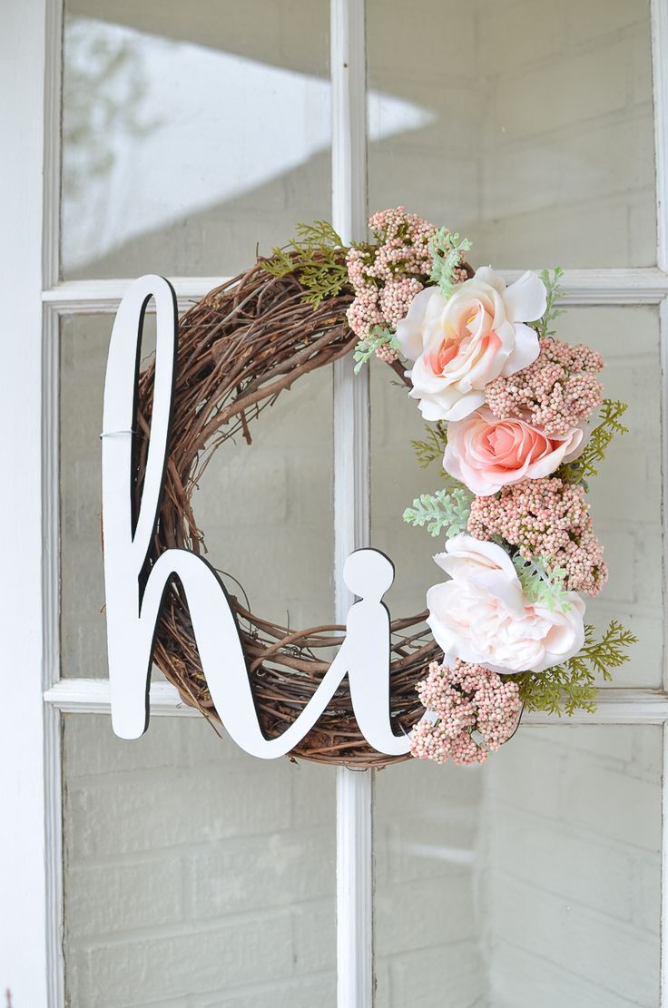 Diy Furniture This Easy Diy Summer Wreath Is Perfect For Your