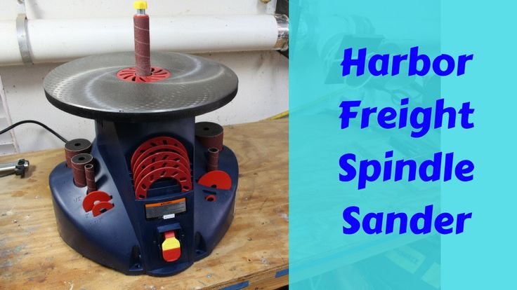 This video is an overview on the Harbor Freight Oscillating Spindle Sander. I&#3...